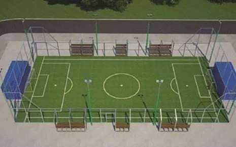 """""""Arena Meu Campinho"""" para Santa Isabel do Ivaí"""