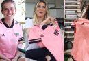 """Clubes lançam uniforme em campanha do """"Outubro Rosa"""", mês de conscientização sobre câncer de mama"""