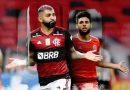 """Flamengo e Inter travam duelo de ataques poderosos e efetivos em """"final"""" pelo título"""