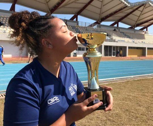 """""""Ana Clara"""" a melhor do Atletismo de Paranavaí no Paranaense Sub-18 em Cascavel"""
